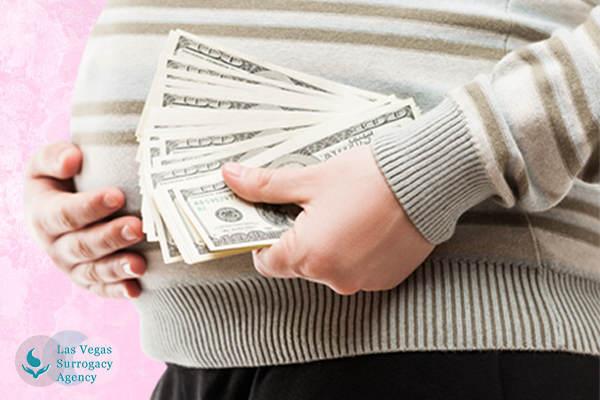 surrogate pay