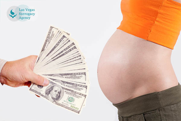 how much does a surrogate mother get paid